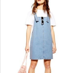 NWT Topshop Denim Dress